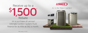 Lennox Rebate Jan 2020