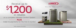 Summer rebate and financing offer